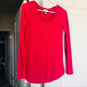 Pink Old Navy Long Sleeve